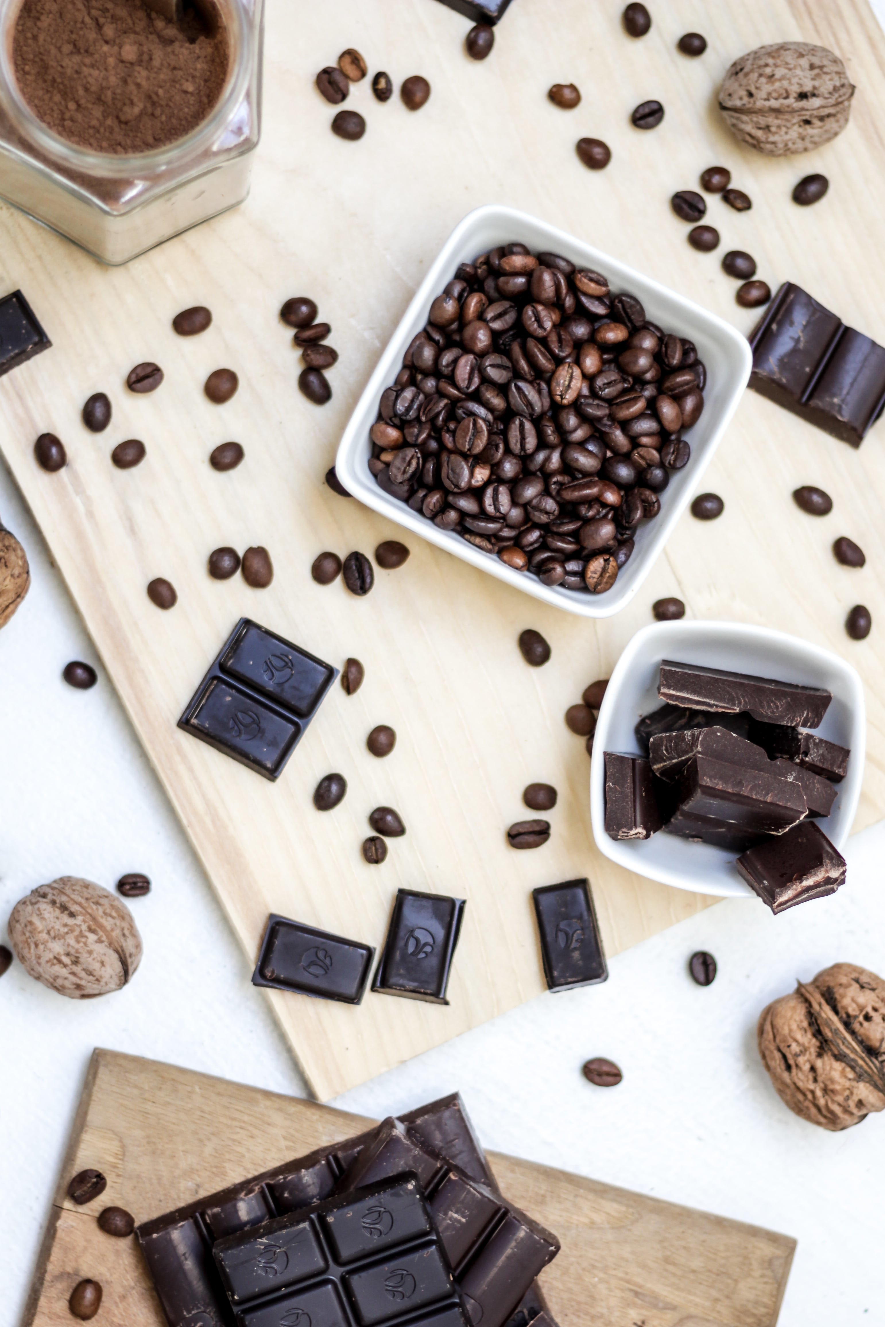Life With Isabelle | Dark chocolate and cocoa beans
