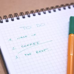 Writing A To Do List