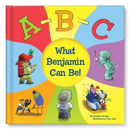 Personalised books for babies and kids (I See Me - ABC What Can I Be)