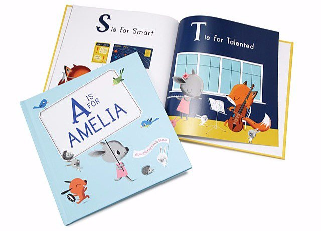 Personalised books for babies and kids (Uncommon Goods - M is For Me)