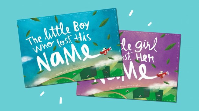 Personalised books for babies and kids (Wonderbly - The Little Boy Or Girl Who Lost Their Name)