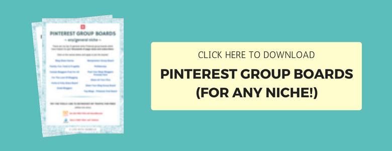 Download Pinterest group boards